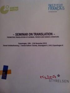 Fachseminar Übersetzen 1